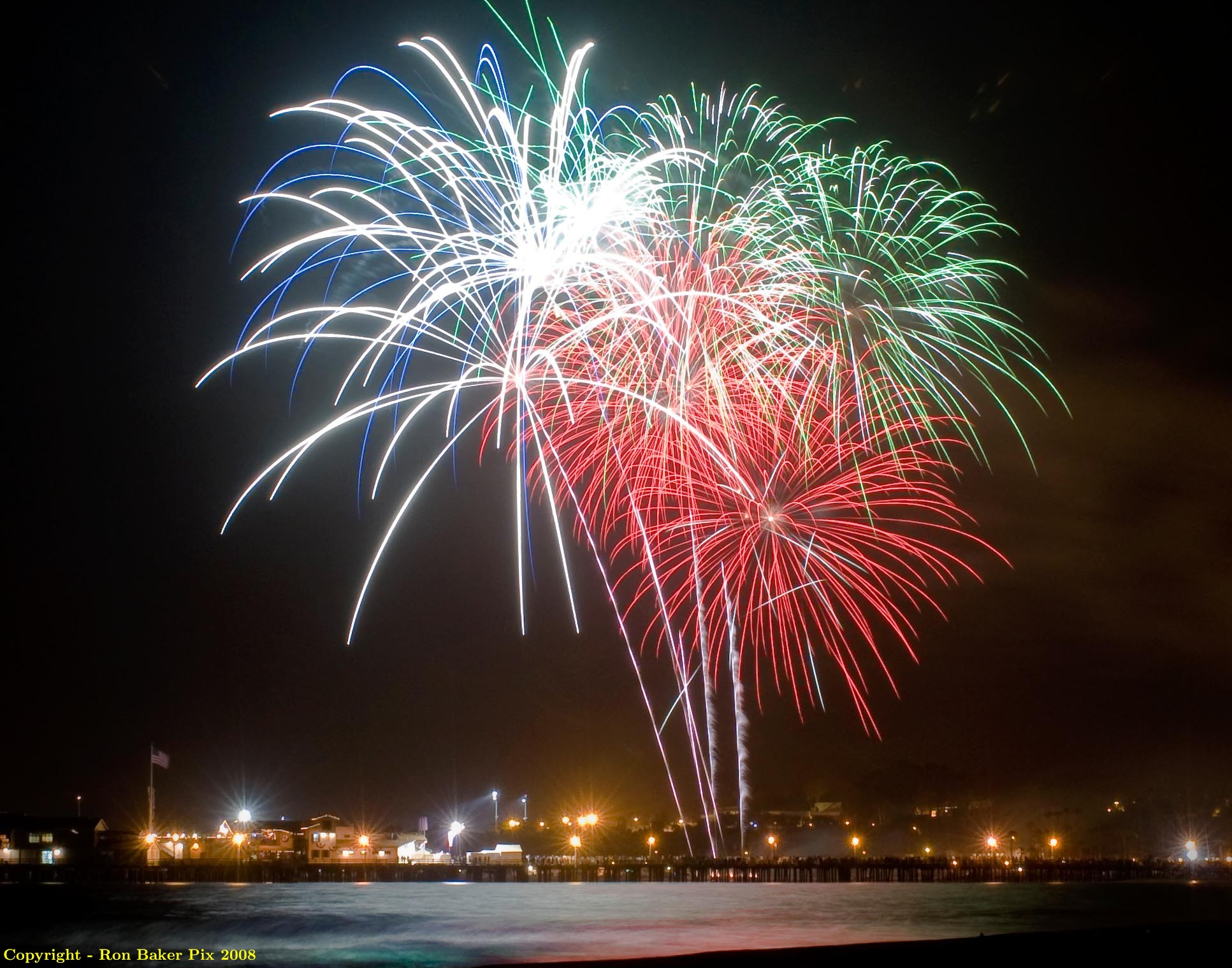 Santa Barbara's 4th of July Fireworks